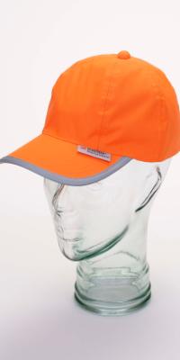 casquette haute visibilité orange