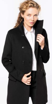 manteau long boutons et poches