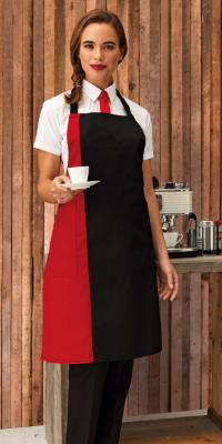 tablier serveur bicolore