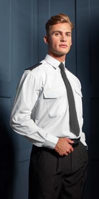 costume et chemise aviation