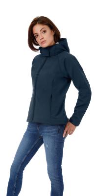 veste softshell femme protection pour le cou