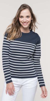 sweat shirt marin femme