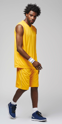 tenue basket sport collectif homme